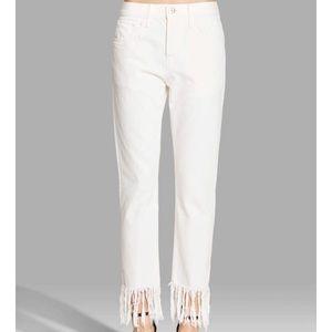 Denim - 3x1 fringe jeans size 28